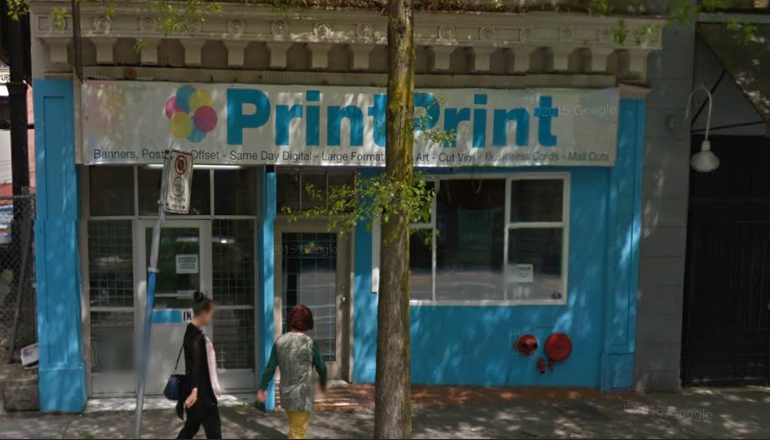 Print shop in vancouver
