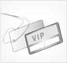 Plastic VIP Cards & Event Passes