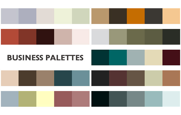 pickinga color scheme for print: color palettes.