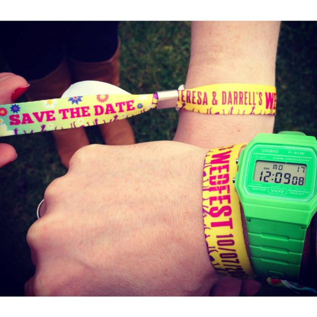 Textile wristbands