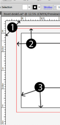 bleed lines in illustrator